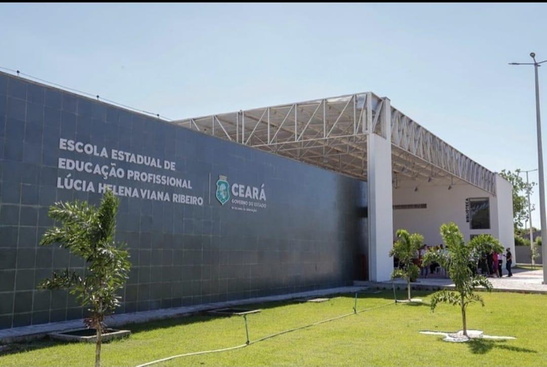 Governo do Estado do Ceará inaugura a EEEP Lúcia Helena Viana Ribeiro em Horizonte
